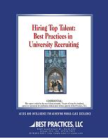 Hiring Top Talent: Best Practices in University Recruiting