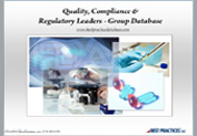 Quality, Compliance & Regulatory Leaders Collateral